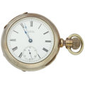 Timepieces:Pocket (pre 1900) , Waltham Appleton Tracy & Co. Coin Silver 18 Size. ...