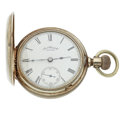 Timepieces:Pocket (post 1900), Waltham P.S. Bartlett 18 Size Silver Hunters Case. ...