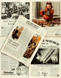 Books:Periodicals, Five Issues of The Saturday Evening Post. October 20, 1934 -March 27, 1937. ... (Total: 5 Items)
