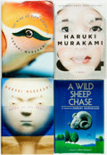 Books:Literature 1900-up, Haruki Murakami. Group of Four American First Editions. 1989 -2011. ... (Total: 4 Items)