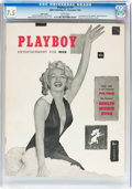 Magazines:Miscellaneous, Playboy #1 Page 3 Copy (HMH Publishing, 1953) CGC VF- 7.5 White pages....