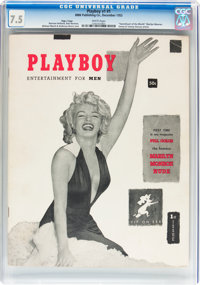 Playboy #1 Page 3 Copy (HMH Publishing, 1953) CGC VF- 7.5 White pages