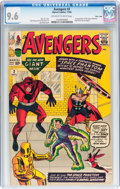 Silver Age (1956-1969):Superhero, The Avengers #2 Massachusetts Copy pedigree (Marvel, 1963) CGC NM+9.6 Off-white to white pages....