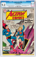 Silver Age (1956-1969):Superhero, Action Comics #252 (DC, 1959) CGC NM- 9.2 Cream to off-whitepages....