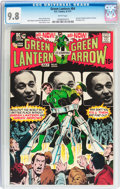 Bronze Age (1970-1979):Superhero, Green Lantern #84 (DC, 1971) CGC NM/MT 9.8 White pages....