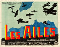 "Movie Posters:Academy Award Winners, Wings (Paramount, 1927). French Affiche (23.5"" X 32"") Style B.. ..."