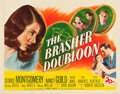 """Movie Posters:Crime, The Brasher Doubloon (20th Century Fox, 1946). Half Sheet (22"""" X28"""").. ..."""