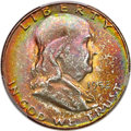 Franklin Half Dollars, 1952-S 50C MS67 Full Bell Lines PCGS....