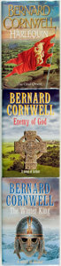 Books:Science Fiction & Fantasy, Bernard Cornwell. Three SIGNED First Editions. Various publishers, 1995 - 2000. . ... (Total: 3 Items)