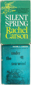 Books:Natural History Books & Prints, Rachel L. Carson. Pair of Books. Various publishers and dates. . ... (Total: 2 Items)