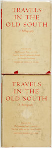 Books:Reference & Bibliography, Thomas D. Clark, editor. Travels in the Old South: ABibliography, Vols. I & II. Norman, OK: University ofOklah... (Total: 2 Items)