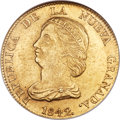 Colombia, Colombia: Republic gold 16 Pesos 1842 B-RS MS62 NGC,...