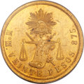 Mexico, Mexico: Republic gold 20 Pesos 1877 Mo-M MS63 PCGS,...
