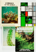 Books:Reference & Bibliography, [Aquarium Reference]. Group of Four Books. Various publishers anddates. . ... (Total: 4 Items)