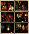 "Movie Posters:Drama, Rebel without a Cause (Warner Brothers, 1955). Color Photo Set of12 & Photos (6) (8"" X 10"").. ... (Total: 18 Items)"