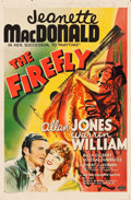 "Movie Posters:Musical, The Firefly (MGM, 1937). One Sheet (27"" X 41"") Style D. Musical.. ..."