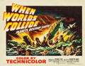 """Movie Posters:Science Fiction, When Worlds Collide (Paramount, 1951). Half Sheet (22"""" X 28"""") StyleB.. ..."""