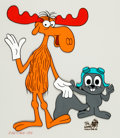 Animation Art:Limited Edition Cel, Bullwinkle and Rocky Limited Edition Cel (Jay WardProductions, 1988)....