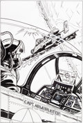 Original Comic Art:Splash Pages, Herb Trimpe G.I. Joe, A Real American Hero #165 CoverOriginal Art (IDW, 2011)....