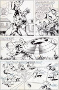 Original Comic Art:Panel Pages, Wayne Vansant and Geof Isherwood The 'Nam #41 Page 8 Original Art (Marvel, 1990)....