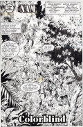 Original Comic Art:Splash Pages, Wayne Vansant and Geof Isherwood The 'Nam #37 Splash Page 3Original Art (Marvel, 1989)....