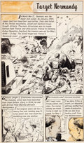 Original Comic Art:Splash Pages, George Evans (attributed) The World Around Us - The IllustratedStory of Whaling Page Original Art (Gilberton, 196...