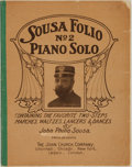 Books:Music & Sheet Music, [Sheet Music]. John Philip Sousa. Sousa Folio No. 2.Cincinnati: The John Church Company. 1906.. ...