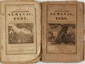Books:Americana & American History, [Abolition]. The American Anti-Slavery Almanac for 1837and 1838, Vol. I, Nos. 2 & 3. Boston: D.K. H... (Total: 2Items)