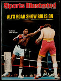 """Boxing Collectibles:Autographs, 1976 Muhammad Ali Signed """"Sports Illustrated"""" Magazine...."""
