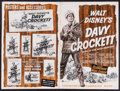 "Movie Posters:Western, Davy Crockett, King of the Wild Frontier & Others Lot (Buena Vista, 1955). Uncut Pressbooks (4) (Multiple Pages, 11.25"" X 14... (Total: 4 Items)"