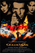 """Movie Posters:James Bond, GoldenEye & Other Lot (United Artists, 1995). One Sheet (27"""" X40"""") and German A1 (23.25"""" X 33"""") SS. James Bond.. ... (Total: 2Items)"""