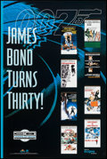 "Movie Posters:James Bond, James Bond Turns 30 (MGM/UA Home Video, 1992). Video Poster (24"" X 36""). James Bond.. ..."
