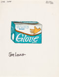 "Original Comic Art:Miscellaneous, Jay Lynch Wacky Packages Unpublished ""Glove Soap""Preliminary Original Art (c. 1970s)...."