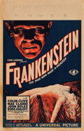 "Movie Posters:Horror, Frankenstein (Universal, 1931). Window Card (14"" X 21.5"").. ..."