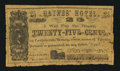 Obsoletes By State:Arkansas, Little Rock, AR- Haynes Hotel 25¢ March 13, 1863 Rothert 416-1. ...