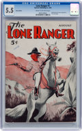 Pulps:Western, The Lone Ranger #1 Ashcan Pulp Group (Spartan, 1936) CGC FN- 5.5 Cream to off-white pages.... (Total: 5 Items)