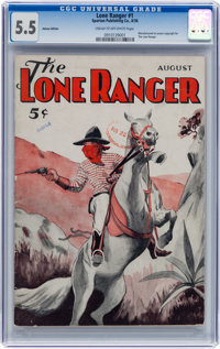 The Lone Ranger #1 Ashcan Pulp Group (Spartan, 1936) CGC FN- 5.5 Cream to off-white pages.... (Total: 5 Items)