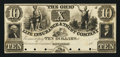 Obsoletes By State:Ohio, Cincinnati, OH- Ohio Life Insurance and Trust Co. $10 18__ G16Wolka 0583-07 Proof. ...