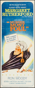 "Movie Posters:Mystery, Murder Most Foul (MGM, 1964). Insert (14"" X 36""). Mystery.. ..."