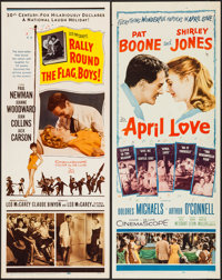 "Rally 'Round the Flag, Boys! & Other Lot (20th Century Fox, 1959). Inserts (2) (14"" X 36""). Comedy. ... (T..."