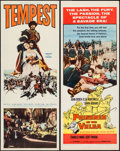 "Movie Posters:Adventure, Tempest & Other Lot (Paramount, 1959). Inserts (2) (14"" X 36"").Adventure.. ... (Total: 2 Items)"