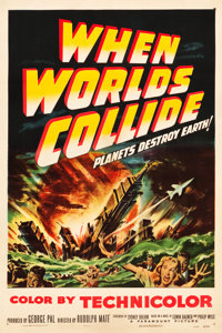 "When Worlds Collide (Paramount, 1951). One Sheet (27"" X 41"")"
