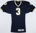 Football Collectibles:Uniforms, Joe Montana Signed Notre Dame Fighting Irish Jersey....