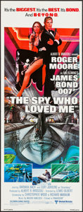 "Movie Posters:James Bond, The Spy Who Loved Me (United Artists, 1977). Insert (14"" X 36"").James Bond.. ..."