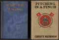 "Baseball Collectibles:Others, 1912-23 ""Pitching in a Pinch"" Christy Mathewson & ""My ThirtyYears in Baseball"" John McGraw Hardcover Books. ..."