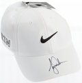 Golf Collectibles:Autographs, Tiger Woods Signed Cap....