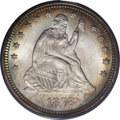 Seated Quarters: , 1878 25C MS66 PCGS. Highly lustrous, well preserved surfaces arenearly color-free on the reverse, while those on the obver...