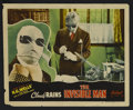 """Movie Posters:Horror, The Invisible Man (Realart, R-1947). Lobby Card (11"""" X 14""""). James Whale directs Claude Rains, Gloria Stuart, Henry Travers ..."""