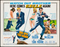 "Movie Posters:Action, One Spy Too Many (MGM, 1966). Autographed Half Sheet (22"" X 28"").Action.. ..."