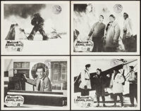 """Invasion of the Animal People & Others Lot (A.D.P., 1962). Lobby Cards (4) & Lobby Card Set of 8 (11"""" X 14&..."""